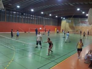 Nos terrains de Badminton